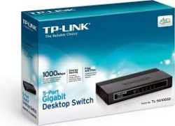 TP-Link TL-SG1005D 5-Port Gigabit Desktop Switch 1000 Mbps